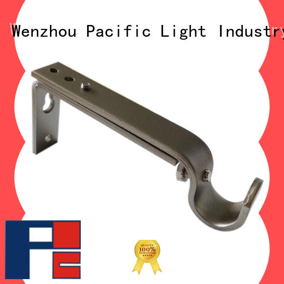 Pacific wood curtain rods and brackets for business for sliding door