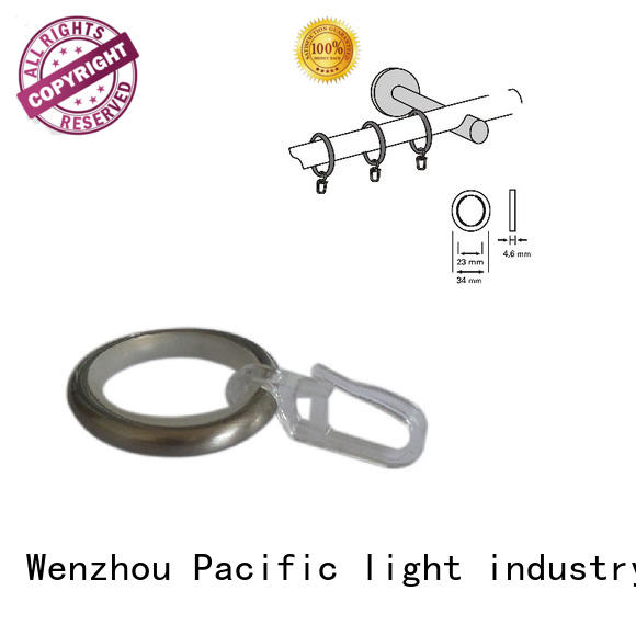 Pacific high quality curtain rod accessories apply for patio door