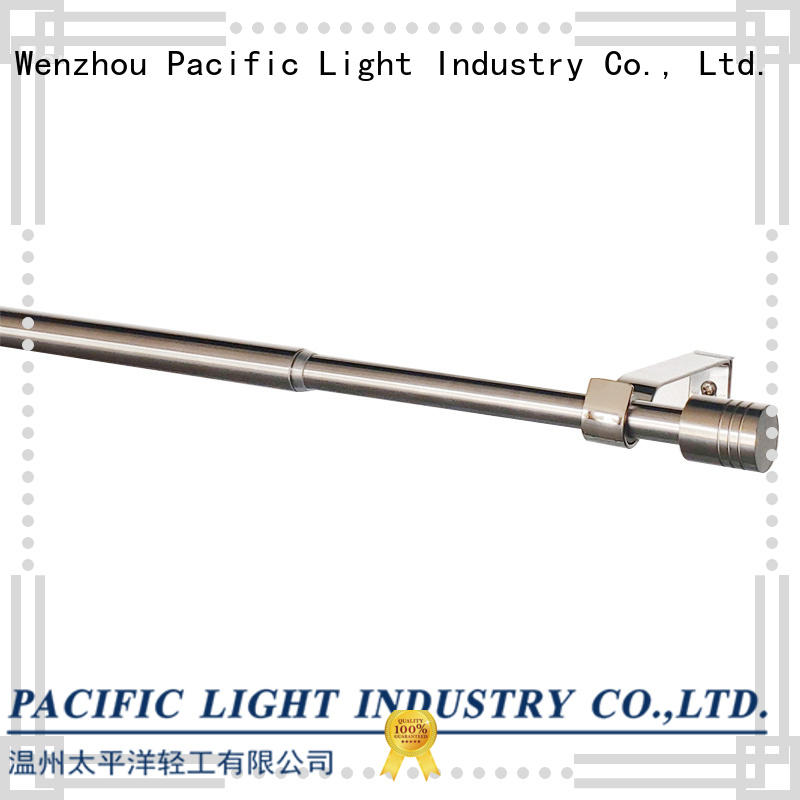 Pacific buy standard curtain rod apply for corner