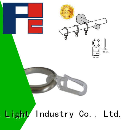 Pacific High-quality curtain holdback rings company for corner window