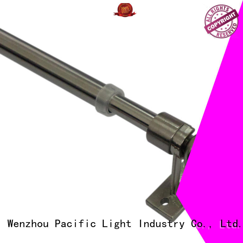 Pacific diy cafe curtain rod supplier for corner window