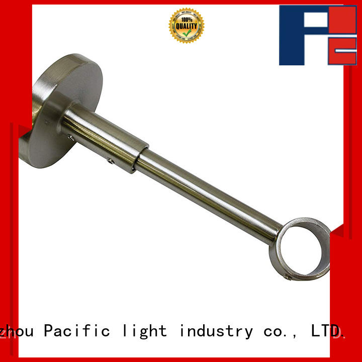 Pacific nickel curtain rod brackets products for corner