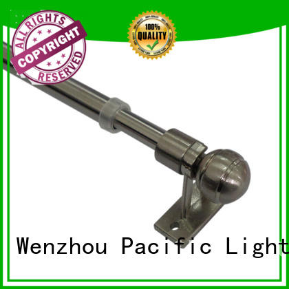 Pacific diy types of curtain rods supplier for corner window