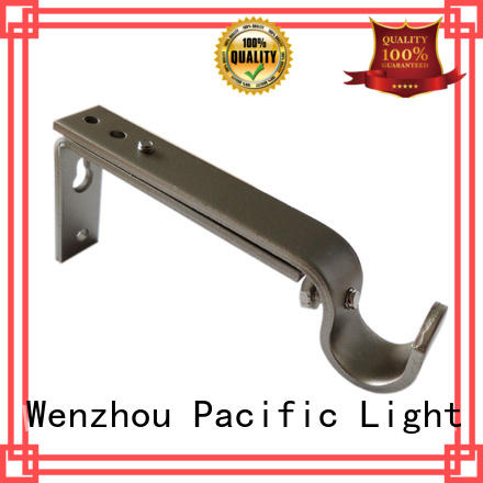 Pacific single curtain rod bracket company for home