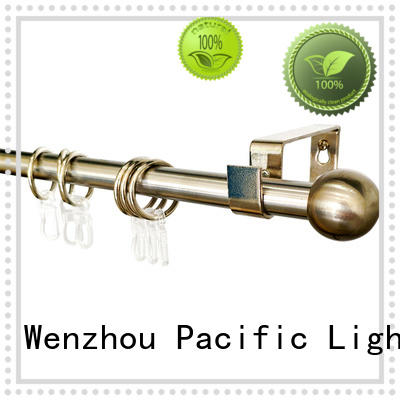 Pacific side curtain rods manufacturers for patio door