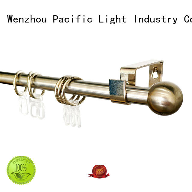 Pacific discount curtain rods manufacturers for patio door