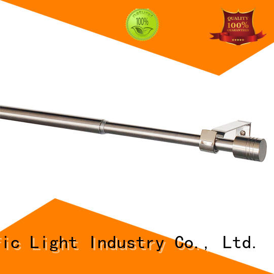 Pacific New cheap white curtain rods manufacturers for sliding door