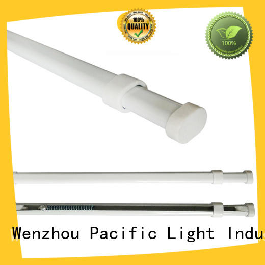 Pacific dark curtain rods factory