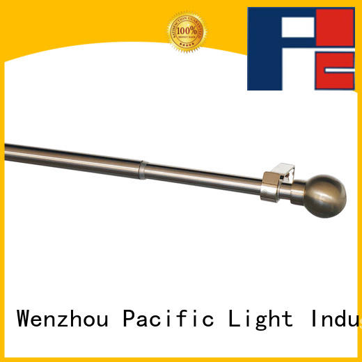 Pacific telescoping curtain rod for sale for corner