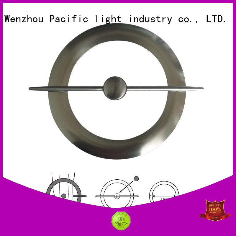 Pacific cheap brushed steel curtain rings for corner window