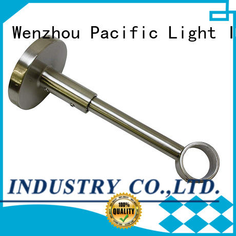 Pacific curtain rod brackets close to wall factory for corner
