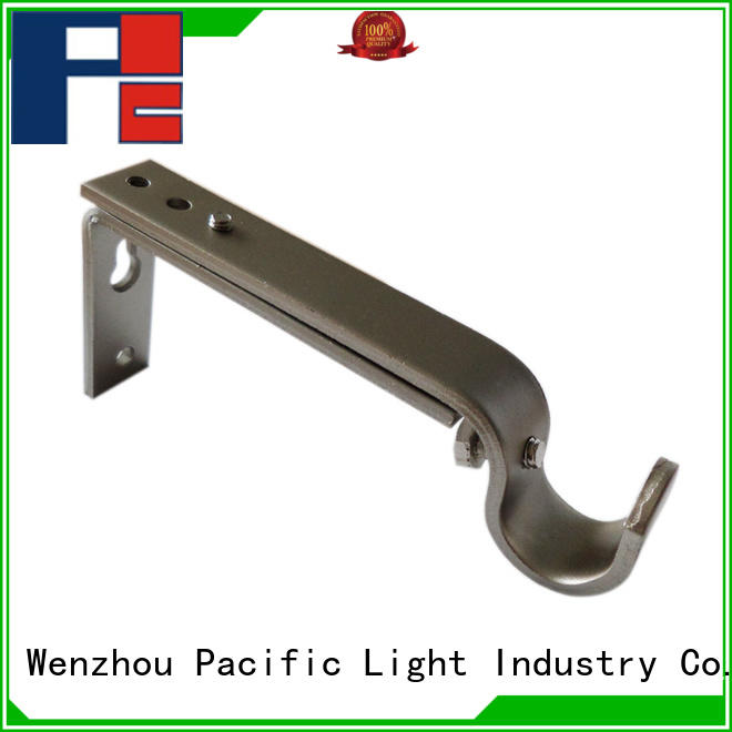 Pacific top rated curtain pole and brackets products for arched window
