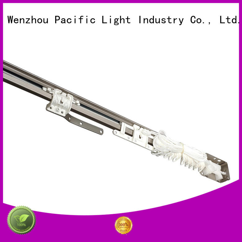 Pacific silent gliss curtain track images for office