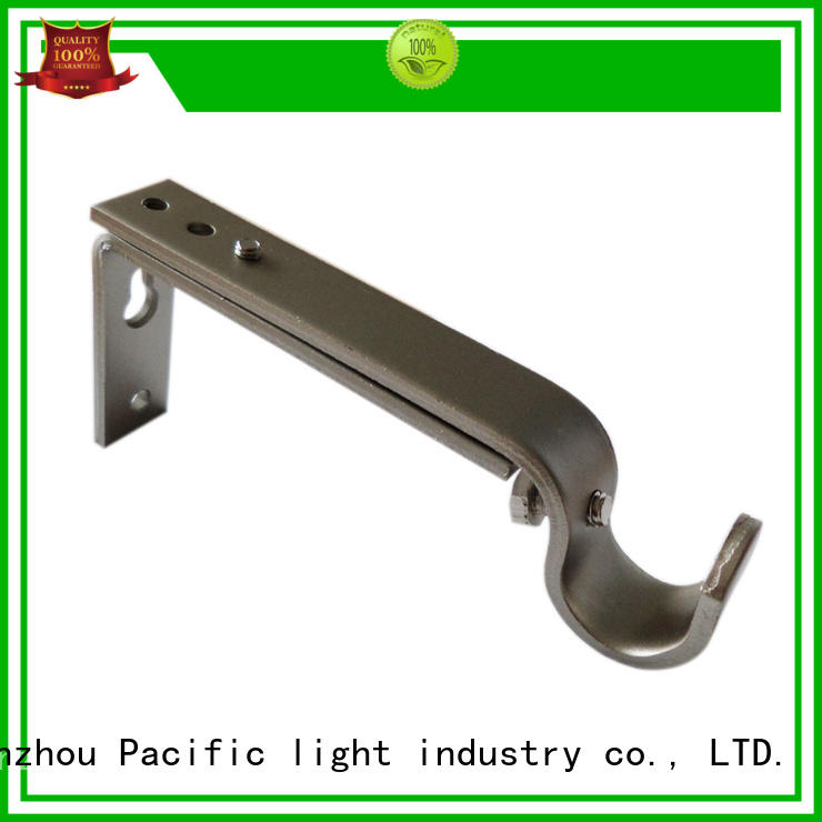 different standard curtain rod brackets products for corner