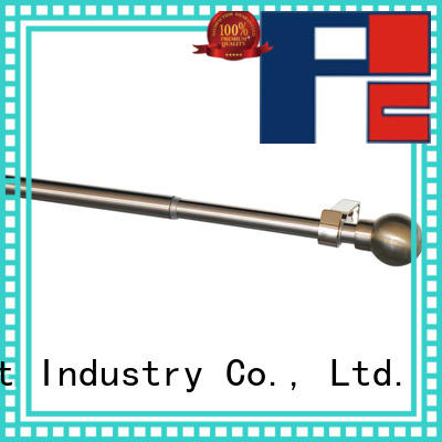 Pacific steel curtain rods names for sliding door