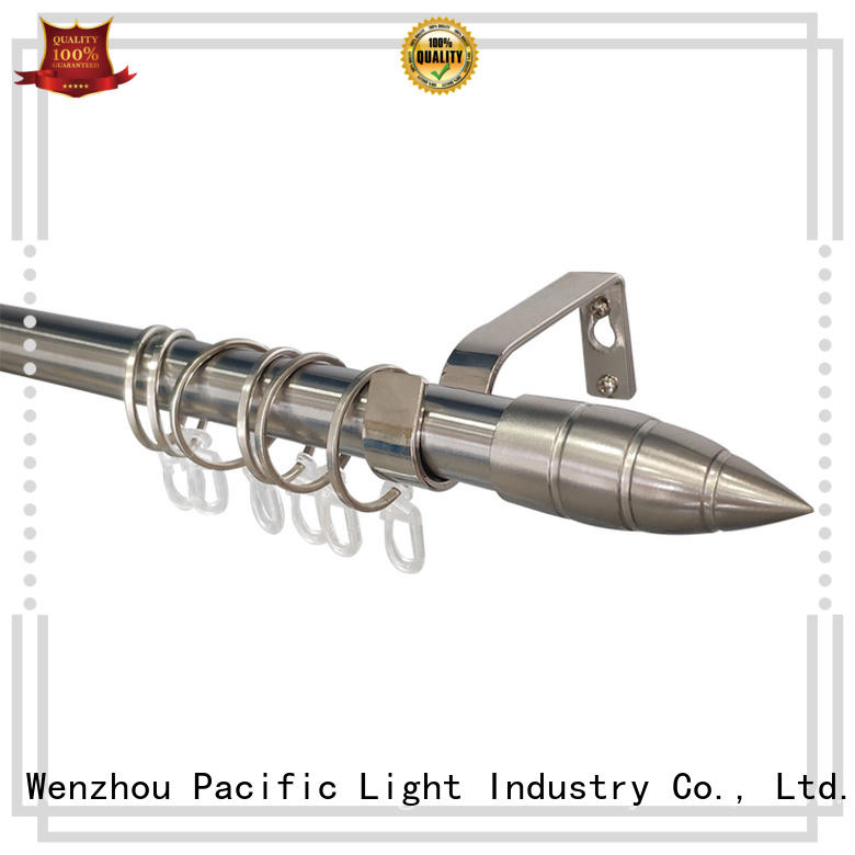 Pacific swing arm curtain rod factory for sliding door