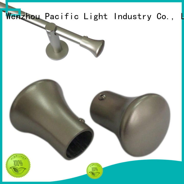 Pacific what is curtain pole ball ends function for hotel
