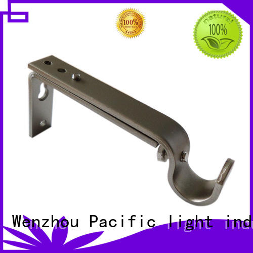 Pacific uncomplicated decorative curtain brackets for corner