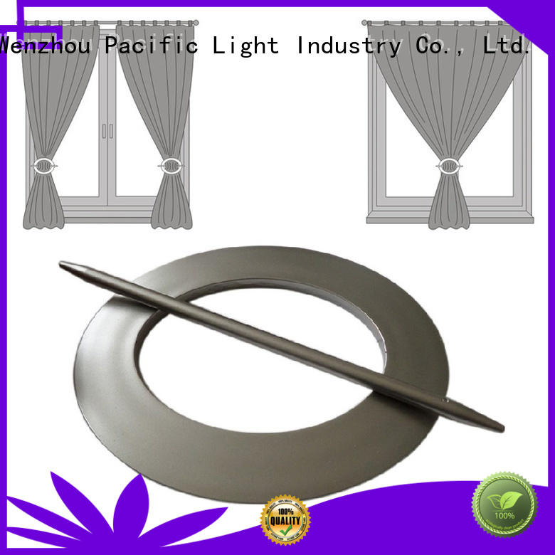 Pacific curtains with metal rings factory for corner window