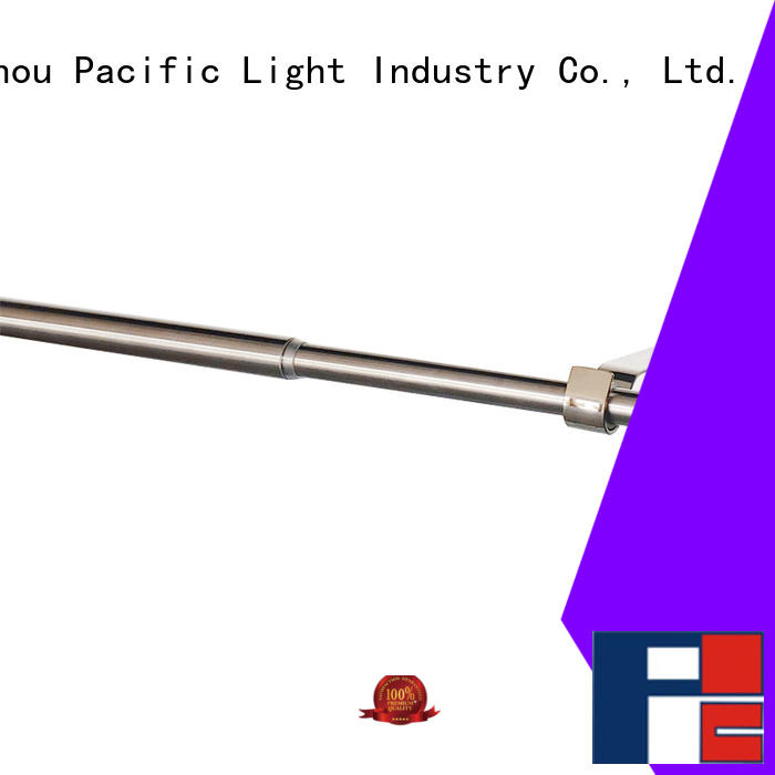 Pacific retractable curtain rod for sale for arched window
