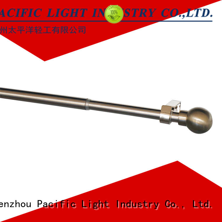 Wholesale extra short curtain rods factory for corner