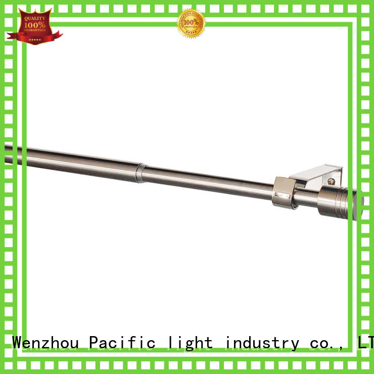 Pacific types of curtain rods apply for sliding door
