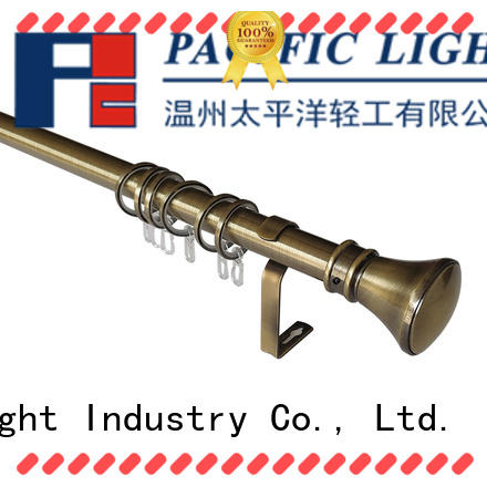 Pacific curtain rod ends for business for corner