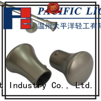 Pacific wood drapery finials supply for house