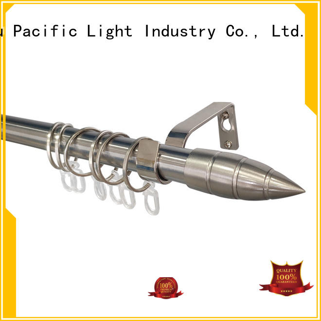 Pacific cheap curtain rods for sale for business for sliding door