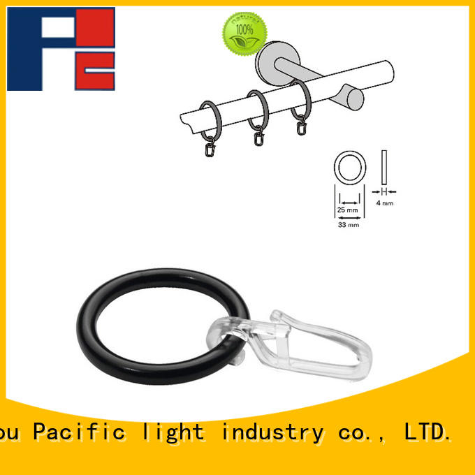 Pacific high quality window curtain rings for sale for patio door