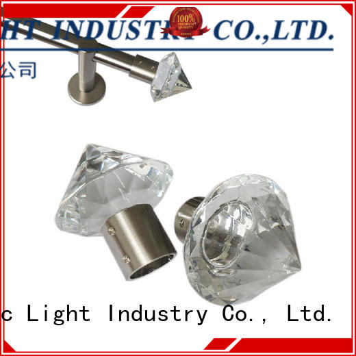 Pacific large finials for curtain rods manufacturers for company