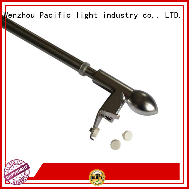 Pacific cafe curtain rod wholesale for door