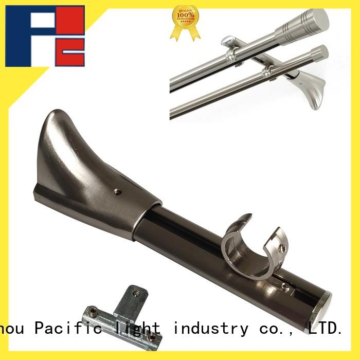 Pacific different replacement curtain rod brackets application for corner