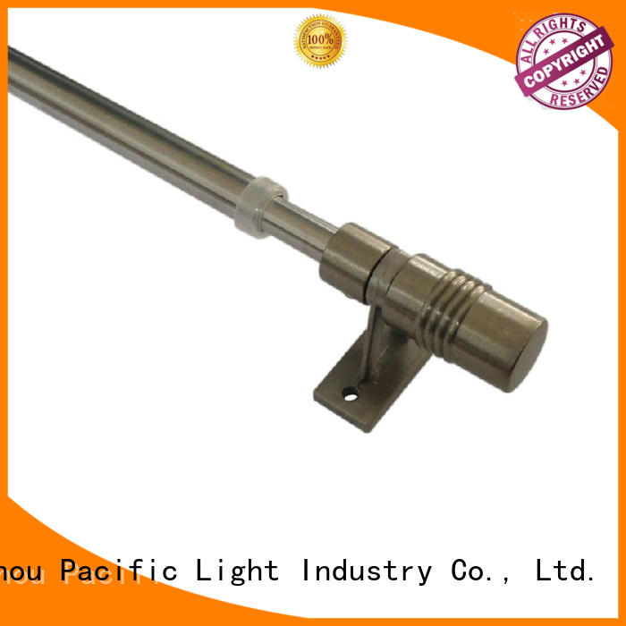 Pacific buy double curtain rod factory