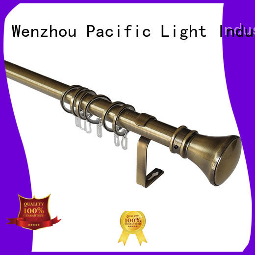 Pacific curtain rod ends manufacturers for arched window