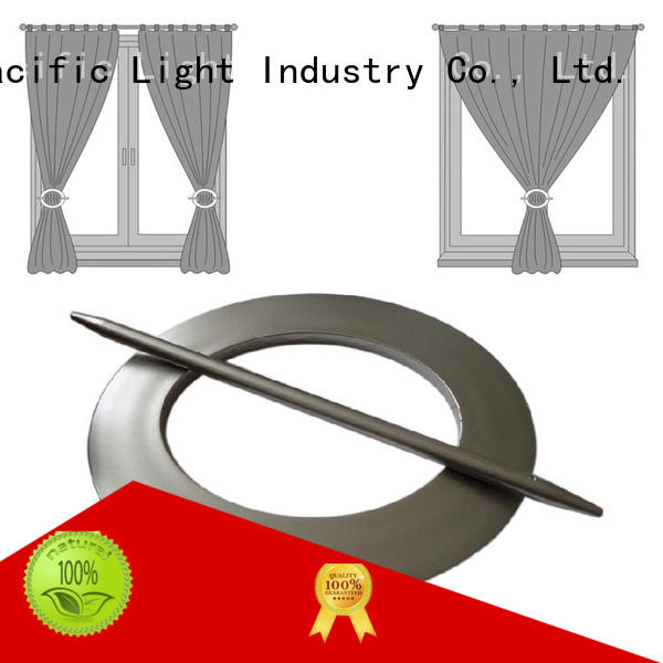 Pacific Latest curtain rod rings with clips supply for patio door