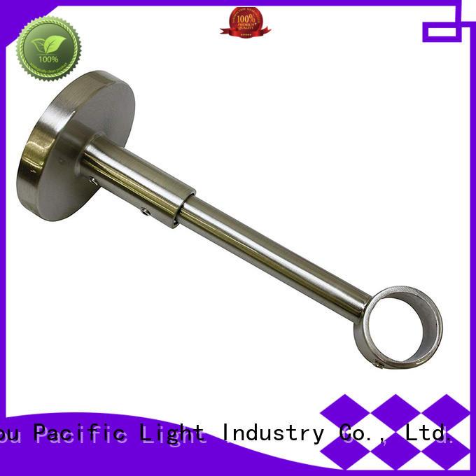Pacific heavy duty curtain pole brackets factory for sliding door