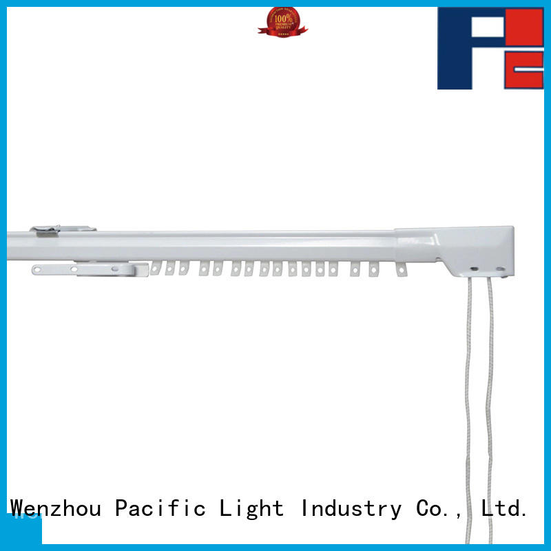 Pacific beautiful sliding curtain track types for office