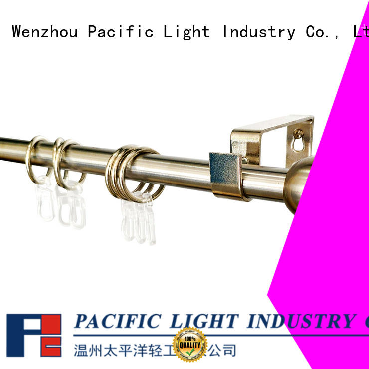 Wholesale two curtain rods suppliers for patio door