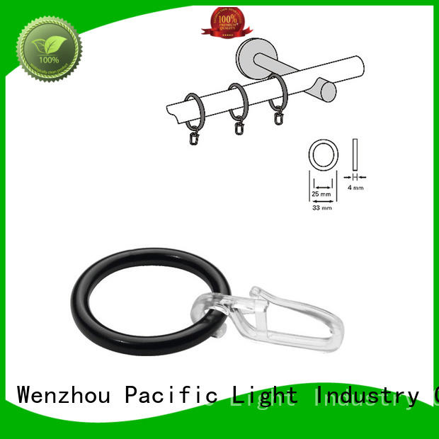 New curtain rings without clips for business for bay window