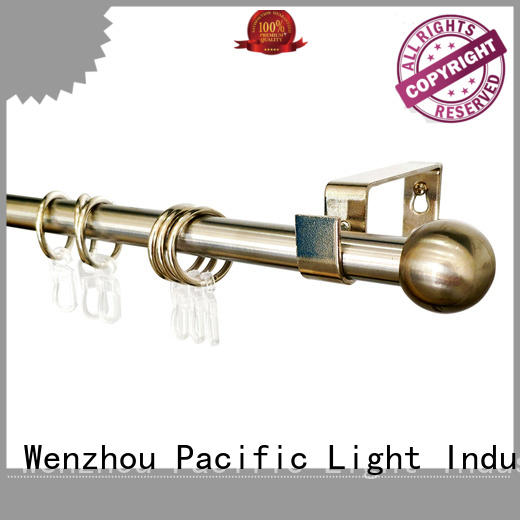 Pacific curtain rods online suppliers for corner