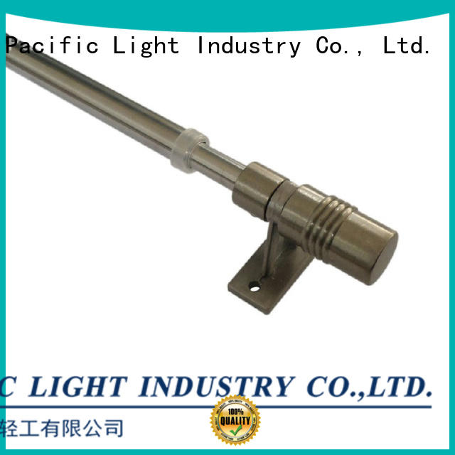 Pacific cheap curtain rods cafe style supplier for arched window