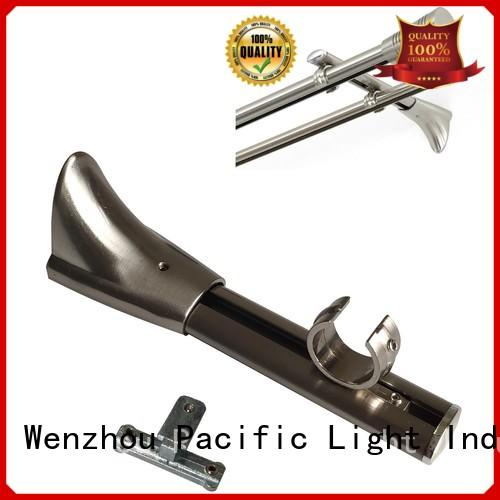 New wooden curtain pole brackets 35mm for business for corner