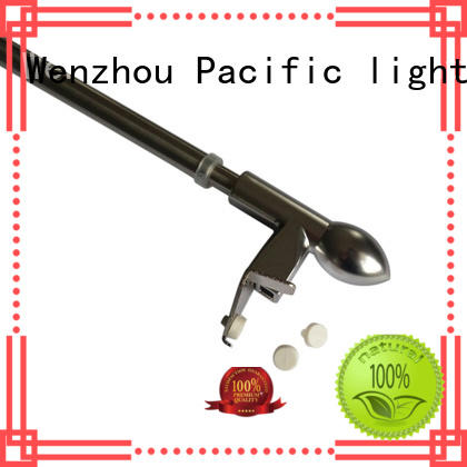 Pacific cheap cafe curtain rod supplier for door