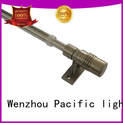 Pacific complete cafe curtain rod supplier for corner window