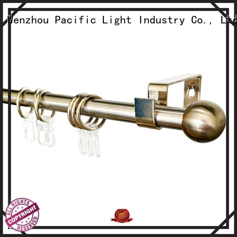 Pacific standard curtain rod for sale for arched window