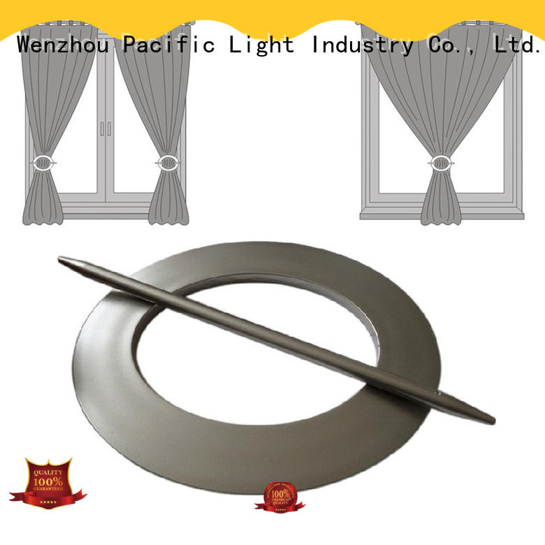 Pacific cheap decorative curtain rings apply for door