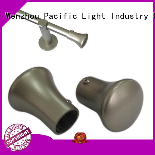 Pacific glass curtain finials details for company