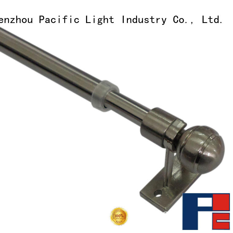 Pacific swing arm curtain rods wholesale for arched window