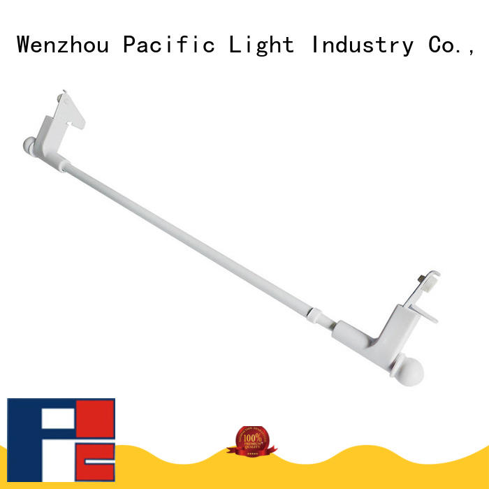 Pacific plain curtain rod for business for corner window